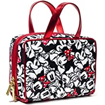 LONDON SOHO NEW YORK Disney Collection Minnie Mouse Weekender Cosmetic Bag, Minnie Facial Expressions