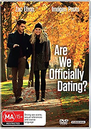 Are we officially dating dvd release date australia