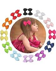 """7Rainbows 12 pares de 2.5"""" pinzas de pelo lindo boutique pinzas de cocodrilo Barrettes para niñas adolescentes niños pequeños niñas"""