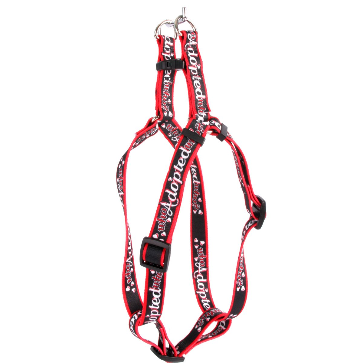 L Yellow Dog Design Step-In Harness, Large, Who Adopted Who