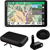 Garmin 010-02425-00 8 inch RV 890 GPS Navigator Bundle with Dual DC12V/24V Electronic Multifunction Car Socket Cigarette Ligh