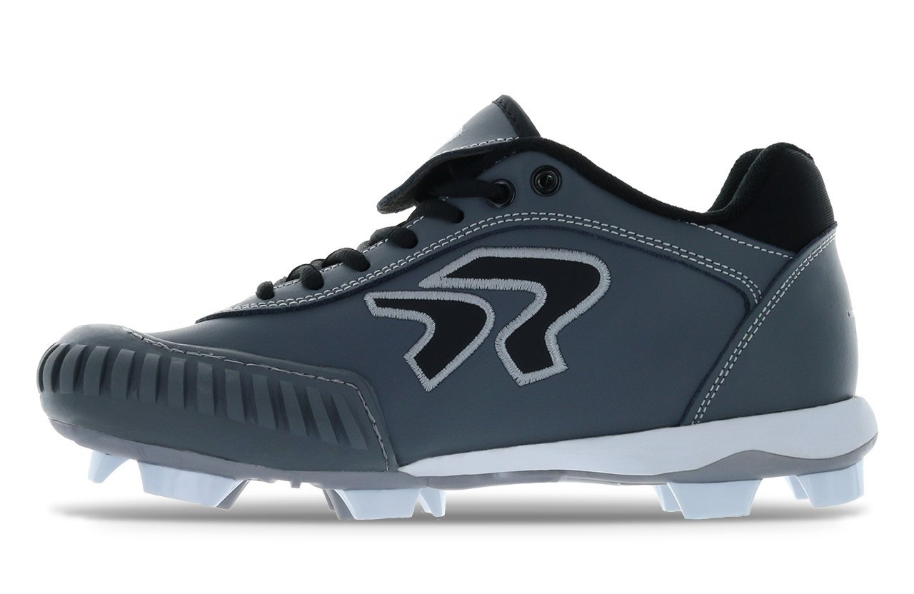 Dynasty 2.0 Cleat- Pitching B07B4NSRDC 7.5 B(M) US|Charcoal/Black