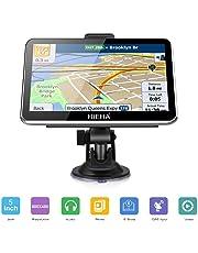 """GPS Para Coches, HIEHA 5"""" Navegador GPS  8GB Pantalla Táctil De Alta definición, Mapa de 48 Países, Sistema de Navegación Múltiples Idiomas"""