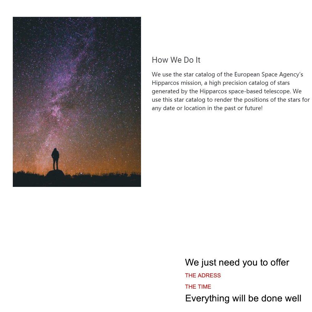 Stars sky dating agency