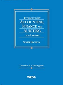 Introductory Accounting, Finance and Auditing for Lawyers (Coursebook)