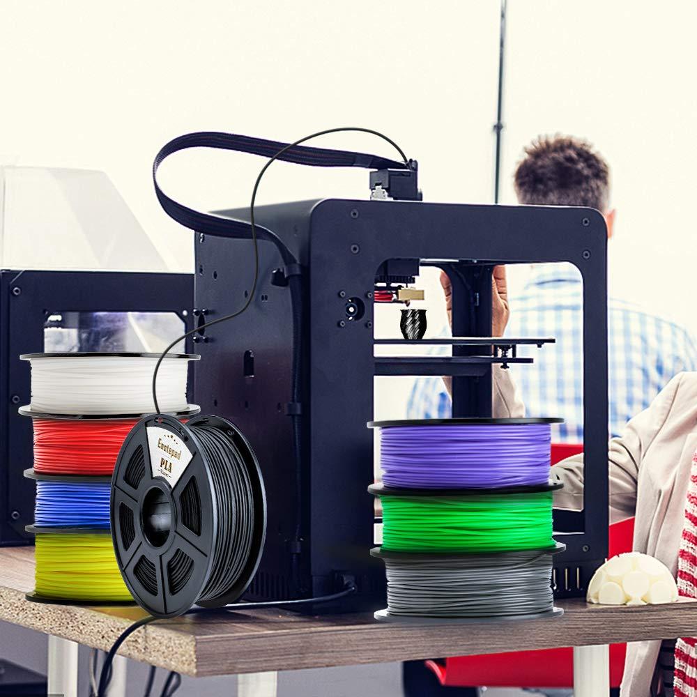 Kohlefaserge fülltes PLA 3D-Druckerfilament, Extrem Steife Kohlefaser,Premium 3D Drucker Drucker Drucker Filament Maßhaltigkeit 1,75mm + -0,02mm,Carbon Fiber 1KG,Schwarz B07HVC9Z78 Filament-3D-Druckmaterialien 4315d5
