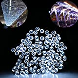 CroLED Solar Power 100 LEDs String Decoration Fairy Lights