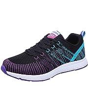 Zapatillas Planas para Mujer,BBestseller Zapatos Casuales Cabeza Sandalias para Mujer Zapatos con Cordones Zapatos Deportivos Sneakers Running Zapatos