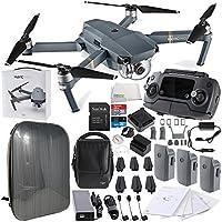 DJI Mavic Pro FLY MORE COMBO Collapsible Quadcopter Hardshell Backpack Bundle