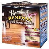 Rust-Oleum Varathane 242008 Renewal No-Sanding Floor Refinishing Kit, Semi-Gloss by Rust-Oleum