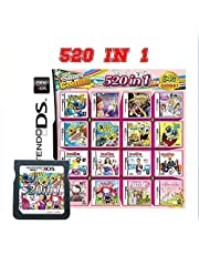 $28 » 520 in 1 Game Cartridge Multicart, Game Pack Card Super Combo For Nintendo DS/NDS/NDSL/NDSi/3DS/2DS XL/LL