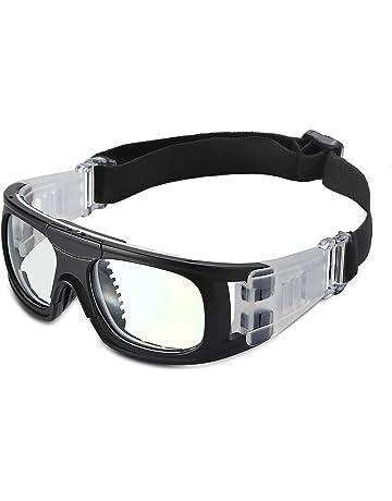 39fe6351a0 Pellor Gafas de Deporte, Adultos Gafas Protectoras Niño Gafas de Seguridad  Deportiva Adjustable para los