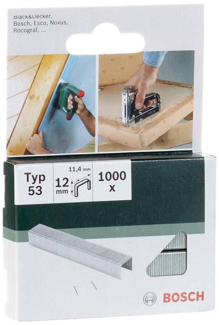 Bosch 2609255822 - Graffette tipo 53, 11,4 x 0,74 x 12 mm, confezione da 1.000 product image