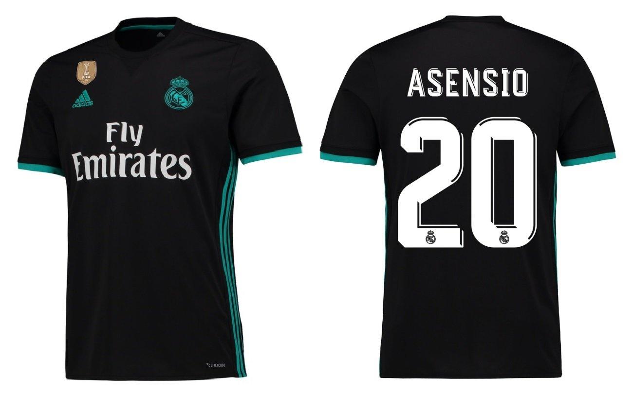 Trikot Kinder Real Madrid 2017-2018 Away WC - Asensio 20