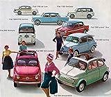 1960 Fiat 500 600 Multipla 1100 1200 1800 2100 Photo