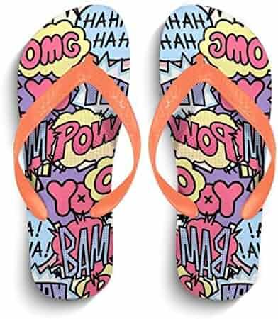 d7a596c9cb83a Chad Hope Mens Casual Fashion Flip Flops Beach Sandals Anti-Slip Slippers