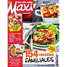 Maxi Hors-Serie Cuisine: 100% Gourmand (French Edition)