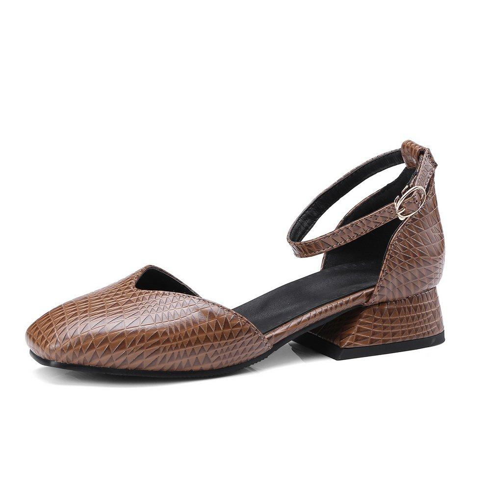 BalaMasa Womens Ruched B07FPQ9234 Mini-Size Travel Urethane Sandals ASL05455 B07FPQ9234 Ruched 9.5 M US|Brown 4719e0