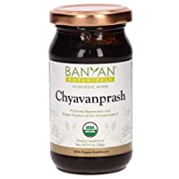 Banyan Botanicals Organic Chyavanprash (Chyawanprash) – Ayurvedic Herbal Jam with Amla & Ashwagandha – for The Immune System & Whole-Body Rejuvenation – 9.4oz – Non GMO Sustainably Sourced Vegetarian
