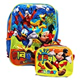 Disney Mickey Mouse Backpack ~ Large Full Size ~ with a Lunch Bag