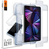 Spigen Tempered Glass Screen Protector [Glas.tR EZ Fit] Designed for iPad Pro 11 inch (2021/2020/2018) iPad Air 4 10.9 inch (