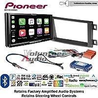 Volunteer Audio Pioneer AVH-W4400NEX Double Din Radio Install Kit with Wireless Apple CarPlay, Android Auto, Bluetooth Fits 2014-2016 Mazda CX-5