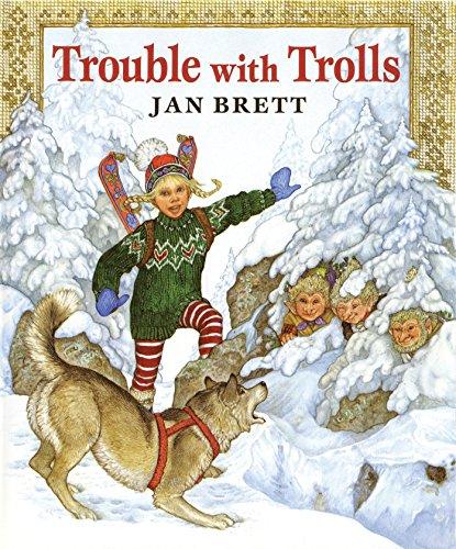Trouble with Trolls [Jan Brett] (Tapa Dura)
