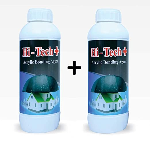 Expert Hitech Waterproofing Liquid 1 and 1 L Combo Pack (White): Amazon.in: Home & Kitchen