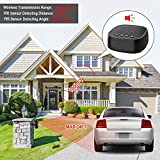 Wireless Driveway Alarm, Motion Detector, 1000FT
