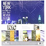 Paper House Productions KTSP-1024E New York City Paper Crafting Kits (3 Pack)