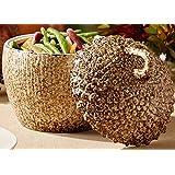 Two's Company Ceramic Acorn Lidded Jar
