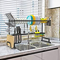 related image of Dish Drying Rack Over Sink Kitchen Organizer