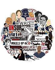 Misis Criminal Minds Stickers Vinyl Waterbestendig TV Show Decal Voor Laptop Skateboard Bumper Cars DIY Decoratie Als Geschenken Voor Kids Meisjes Tieners biologische