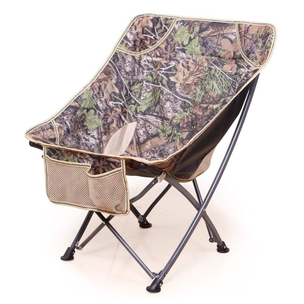 Zatiz Campingstuhl Angeln Im Freien Stuhl Geeignet Für Camping Angeln Camping Outdoor-Freizeit