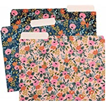 Rosa Floral Letter Sized File Folders by Rifle Paper Co. -- 2 Styles