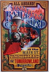 "Amazon.com: DISNEYLAND RESORT'S ""Disneyland Railroad"