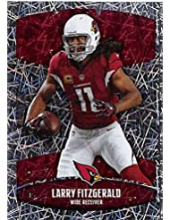 2018 Panini NFL Stickers Collection #384 Larry Fitzgerald Arizona Cardinals Foil Official Football Sticker