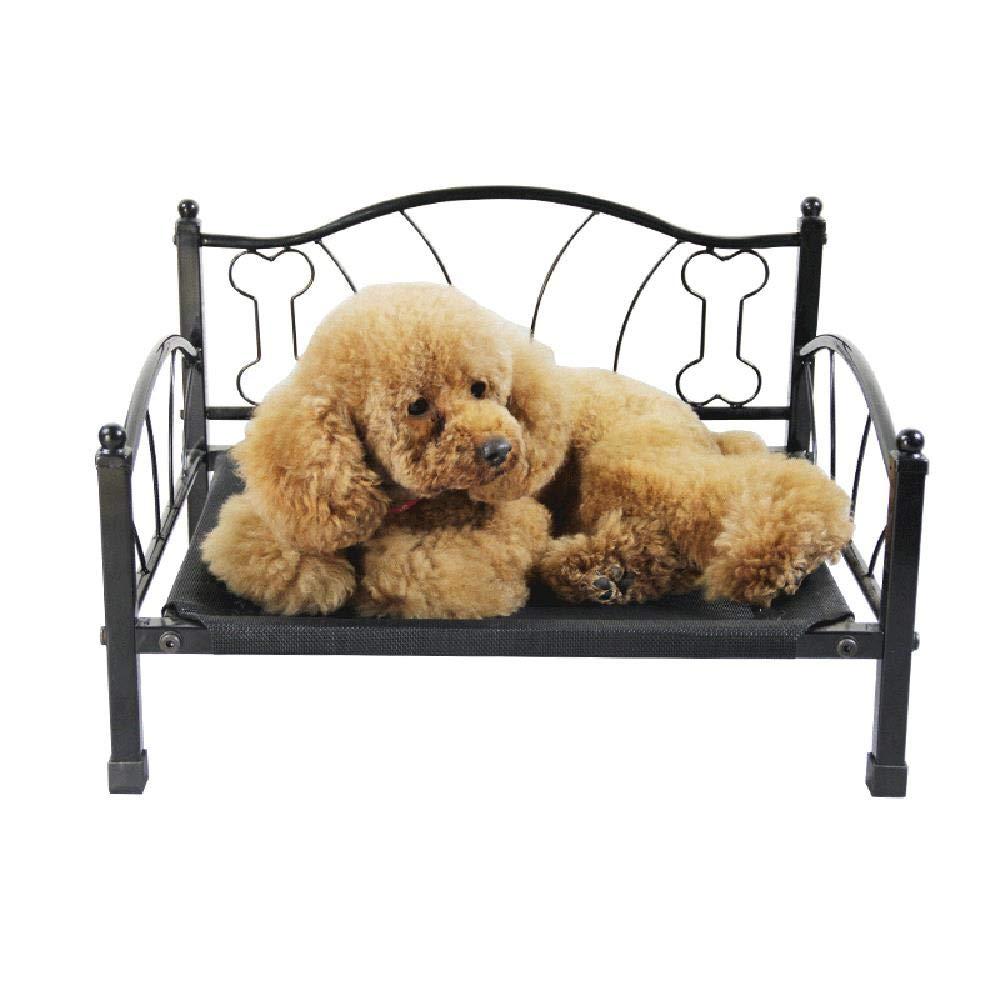 55x35x13cm The Original Elevated Pet Bed by HMNJ(Black)(55x35x13cm)