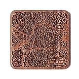 Mexico City Map Coaster by O3 Design Studio, One