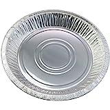 """10"""" (Rim to RIm 9-5/8"""") Disposable Aluminum Pie Pans #1042- Pack of 12"""