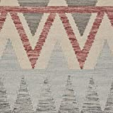 Rivet Southwestern Geometric Wool Area Rug