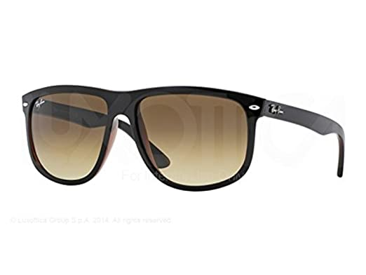 ray ban boyfriend sunglasses review  ray ban rb 4147, oversize, propionate, men, black brown/