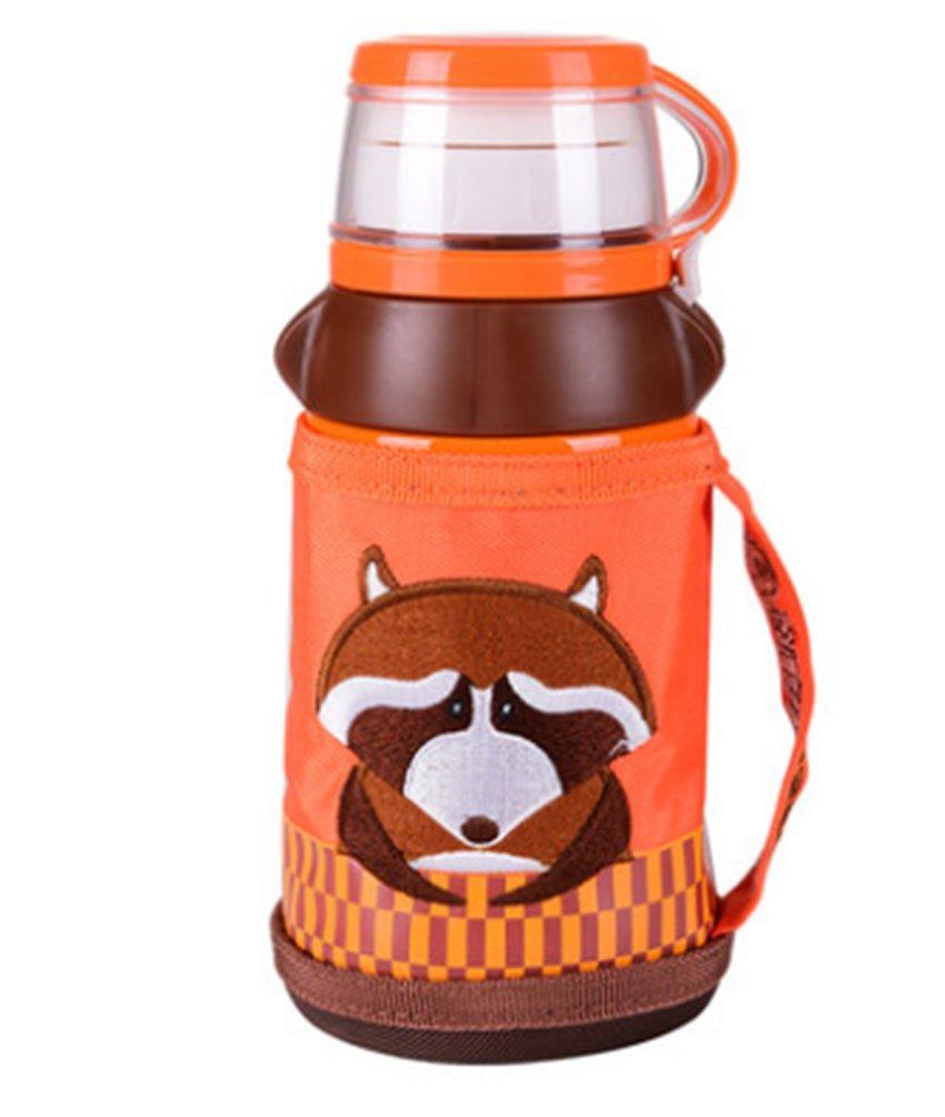 Cup mit einem Bär warmes Kinder Wasserkocher mit einem Stroh Baby männlichen und weiblichen Studenten wasserfest tragbar cup