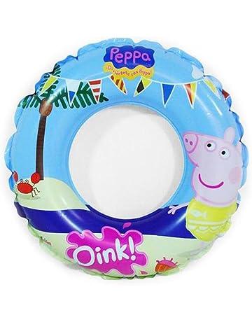 Peppa Pig - Flotador hinchable (Saica Toys 9111)