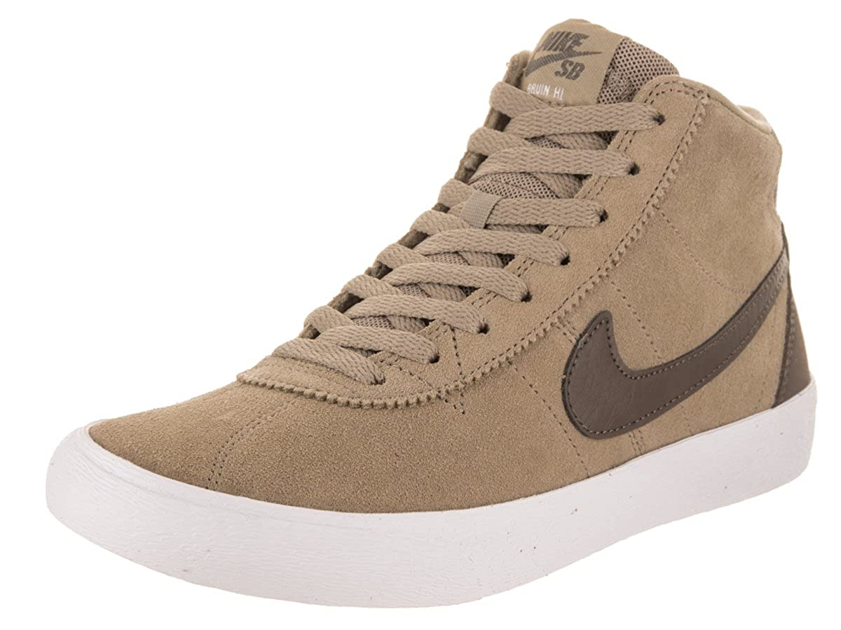 NIKE Damen SB Bruin Hallo Skate-Schuh 7 US 4.5 UK Khaki Ridgerock   Weiß