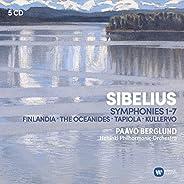 Sibelius: The Symphonies, Kullervo, Finlandia, Tapiola, etc. (5CD)
