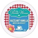 The Pioneer Woman Flavored Coffee Pods, Hazelnut Vanilla Medium Roast Coffee, Single Serve Coffee Pods for Keurig K Cup Machi