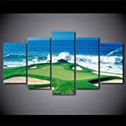 SLFWCLH 5 Pinturas consecutivasImpresiones en HD Pintura sobre Lienzo Arte de la Pared Decoración para el hogar 5 Piezas Cam