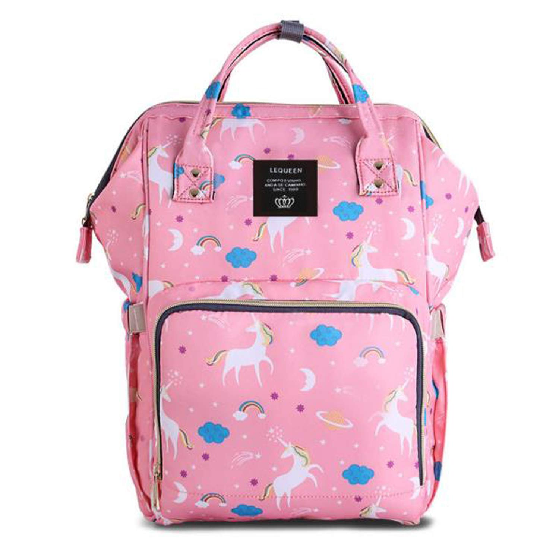 bc8af557b6 SAMAZ Unicorn Diaper Bag Large Nappy Bag Waterproof Multifunction Travel  Backpack Fashion Mummy Daily Bag Durable Baby ...