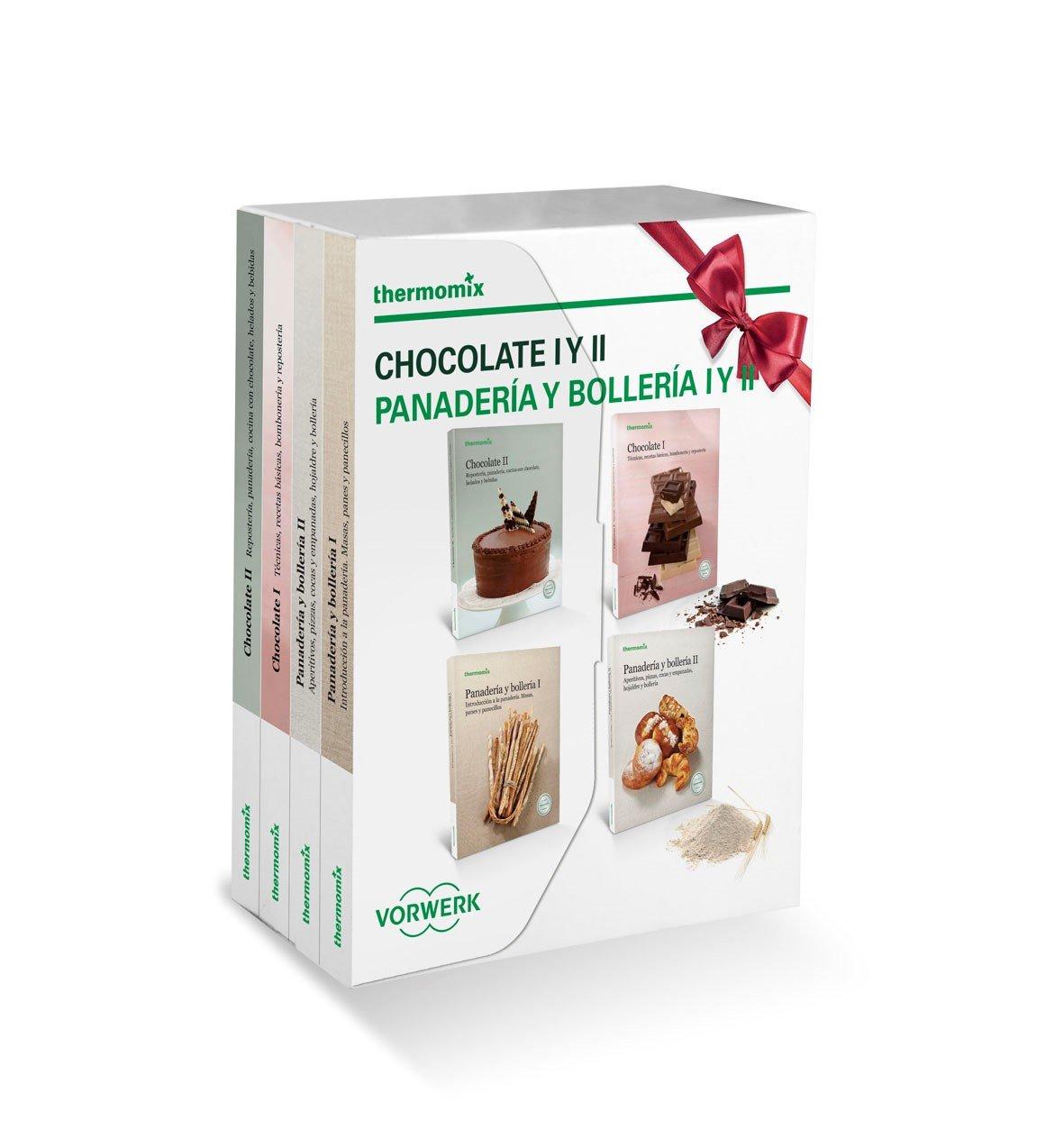 Pack 4 libros: Chocolate I y II y Panadería y bollería I y II: Amazon.es: Vorwerk: Libros